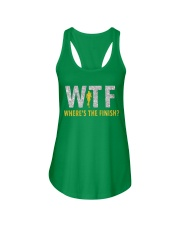 WHERE'S THE FINISH Ladies Flowy Tank front