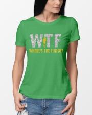 WHERE'S THE FINISH Ladies T-Shirt lifestyle-women-crewneck-front-10