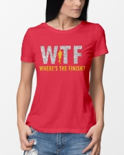 WHERE'S THE FINISH Ladies T-Shirt lifestyle-women-crewneck-front-10