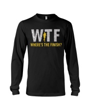 WHERE'S THE FINISH Long Sleeve Tee thumbnail