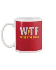 WHERE'S THE FINISH Mug back