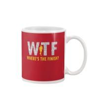 WHERE'S THE FINISH Mug front