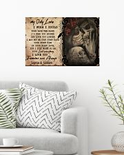 My only love i wish i could turn back the clock  24x16 Poster poster-landscape-24x16-lifestyle-01