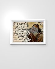 I want to hold your hand at 80 and say  24x16 Poster poster-landscape-24x16-lifestyle-02