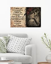 God Says You AreI Choose you to love with my whole 24x16 Poster poster-landscape-24x16-lifestyle-01