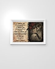 God Says You AreI Choose you to love with my whole 24x16 Poster poster-landscape-24x16-lifestyle-02