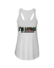 SAVAGE TO AVERAGES Ladies Flowy Tank thumbnail
