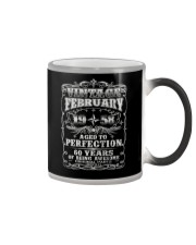 Born in February 1958 Color Changing Mug thumbnail