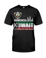 Kuwait love Classic T-Shirt thumbnail