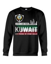 Kuwait love Crewneck Sweatshirt thumbnail