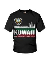 Kuwait love Youth T-Shirt thumbnail