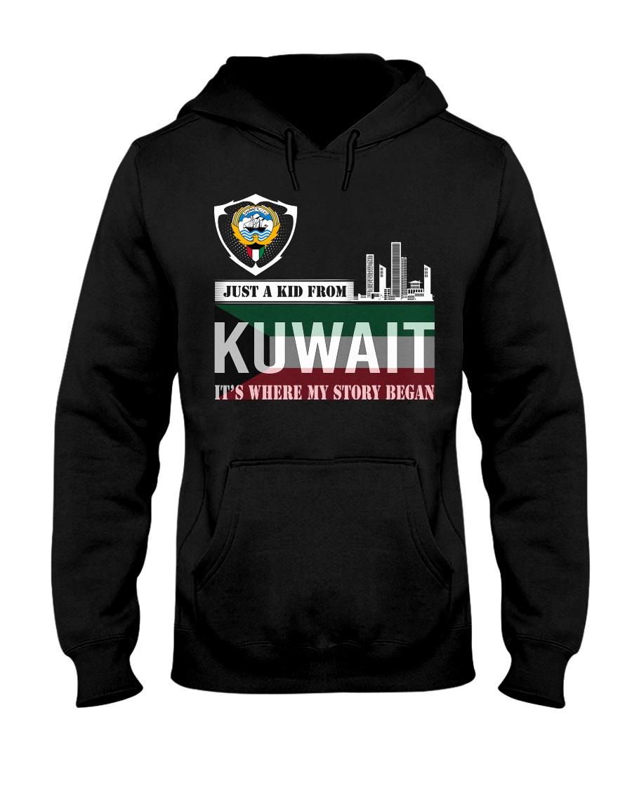 Kuwait love Hooded Sweatshirt