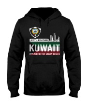 Kuwait love Hooded Sweatshirt front