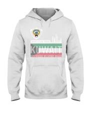 Kuwait love Hooded Sweatshirt tile