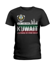 Kuwait love Ladies T-Shirt thumbnail