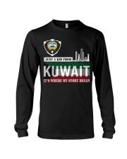 Kuwait love Long Sleeve Tee thumbnail