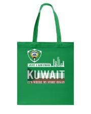 Kuwait love Tote Bag thumbnail