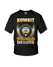 Kuwait gifts Youth T-Shirt thumbnail