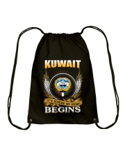Kuwait gifts Drawstring Bag thumbnail