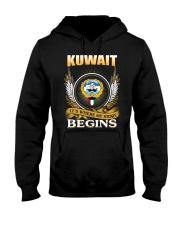 Kuwait gifts Hooded Sweatshirt front