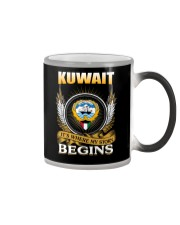 Kuwait gifts Color Changing Mug thumbnail