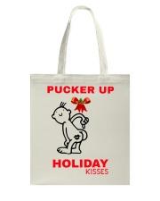 Holiday Kisses Tote Bag thumbnail