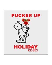 Holiday Kisses Square Coaster thumbnail