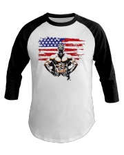 USA Alpha Fighter Baseball Tee thumbnail