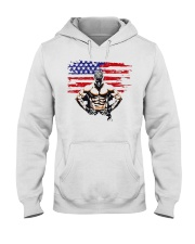 USA Alpha Fighter Hooded Sweatshirt thumbnail