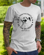 From The Streets To The Octagon  Classic T-Shirt lifestyle-mens-crewneck-front-7