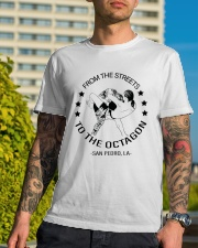 From The Streets To The Octagon  Classic T-Shirt lifestyle-mens-crewneck-front-8