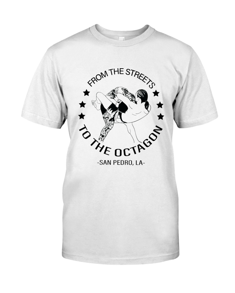 From The Streets To The Octagon  Premium Fit Mens Tee