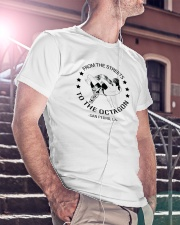 From The Streets To The Octagon  Premium Fit Mens Tee lifestyle-mens-crewneck-front-5