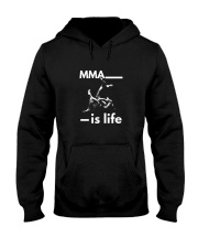 MMA is life t shirt Hooded Sweatshirt thumbnail
