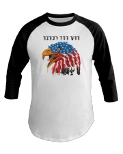 Ready For War Baseball Tee thumbnail