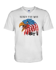 Ready For War V-Neck T-Shirt thumbnail