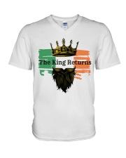 The Irish King V-Neck T-Shirt thumbnail