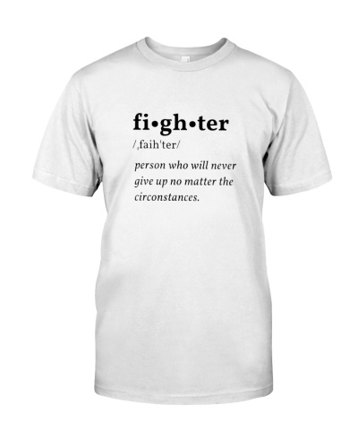 Fighter t shirt