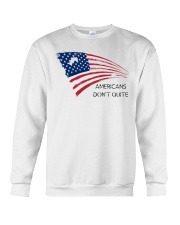 Americans Don't Quite Crewneck Sweatshirt thumbnail