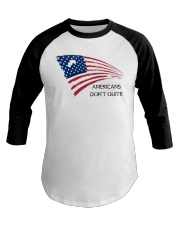 Americans Don't Quite Baseball Tee thumbnail