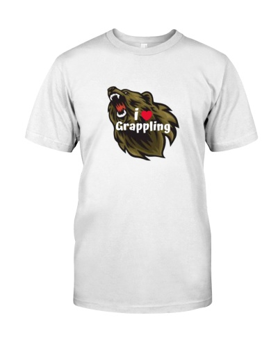 i Love grappling t shirt