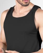 Iris Lucky charm t shirt Unisex Tank garment-unisex-tank-detail-neck-front-01