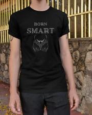 Born Smart T shirt Classic T-Shirt apparel-classic-tshirt-lifestyle-21