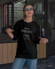 Born Smart T shirt Long Sleeve Tee apparel-long-sleeve-tee-lifestyle-08