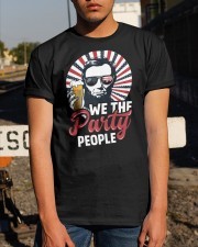 we the party people Classic T-Shirt apparel-classic-tshirt-lifestyle-29