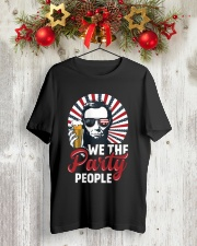 we the party people Classic T-Shirt lifestyle-holiday-crewneck-front-2