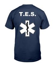 TES IES Castellarnau Classic T-Shirt back