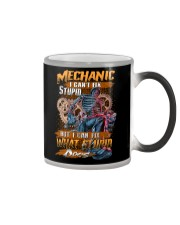 Mechanic I Can Fix What Stupid Does Color Changing Mug thumbnail
