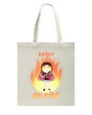Estoy On Fire Tote Bag tile