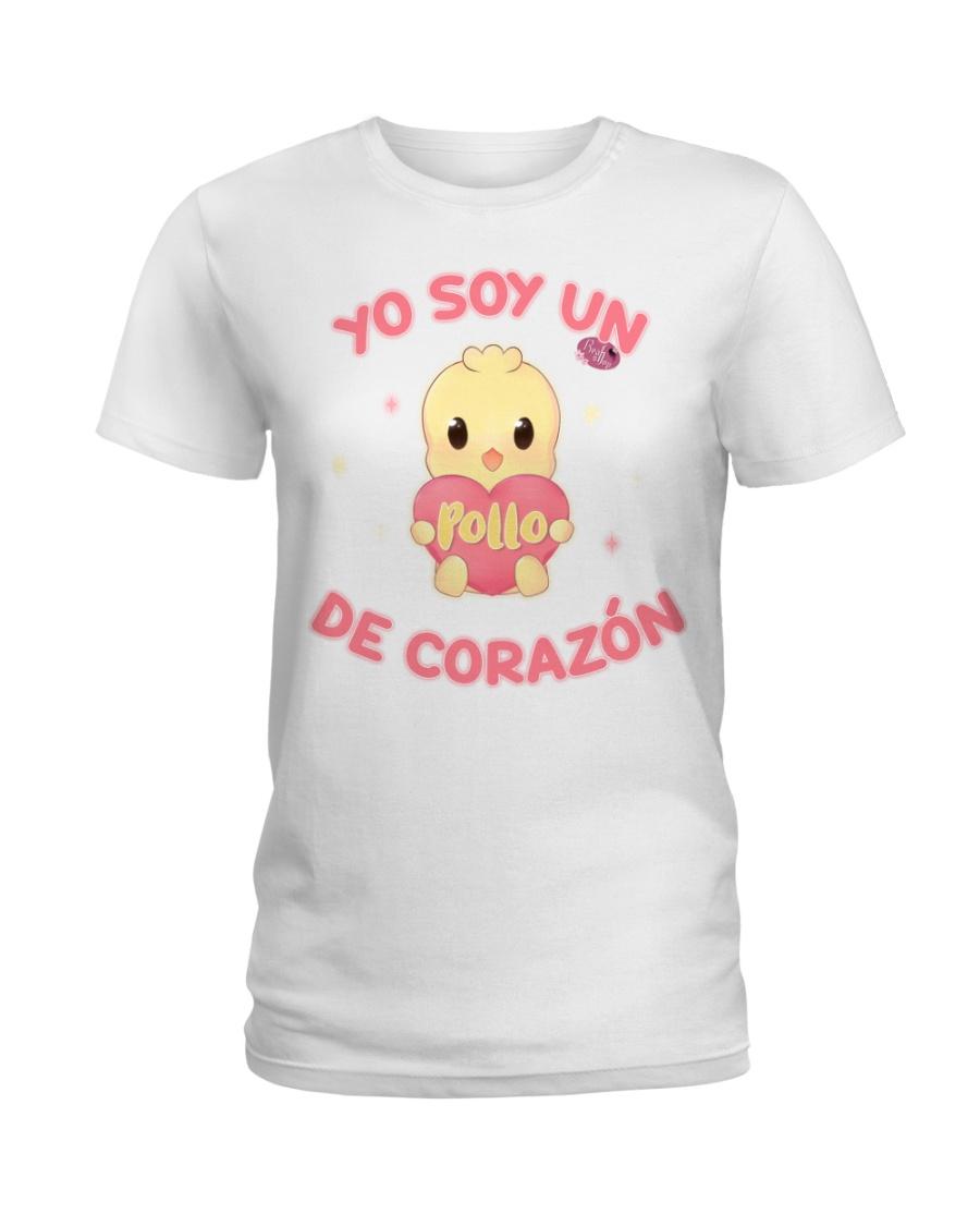 Soy un POLLO de corazon Ladies T-Shirt